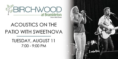 Acoustics on the Patio with Sweetnova tickets