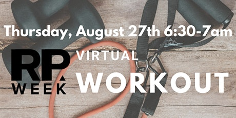 RPWeek Virtual Workout tickets