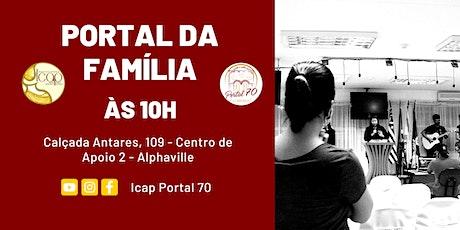 Culto Portal da Família | Domingo de Manhã | 09/08/2020 tickets