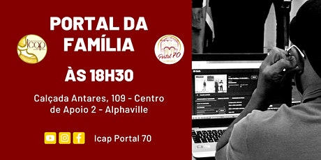 Culto Portal da Família | Domingo a noite | 09/08/2020 tickets