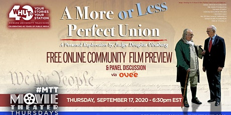 Free Film Preview of More or Less a Perfect Union tickets