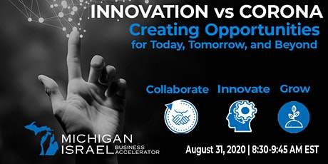 Innovation vs Corona: Creating Opportunities for Today, Tomorrow and Beyond tickets
