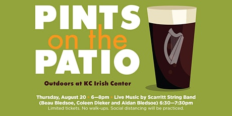 Pints on the Patio Aug. 20 with the Scarritt Sting Band tickets