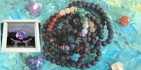 Healing Lava Bracelet Workshop tickets