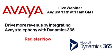 Integrating Dynamics 365 with Your Avaya Telephony System tickets