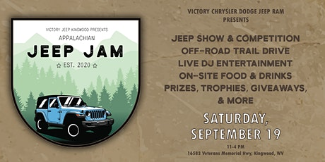 Appalachian Jeep Jam | Jeep Show & Competition tickets