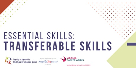 Essential Skills: Transferable Skills **Online Workshop** tickets