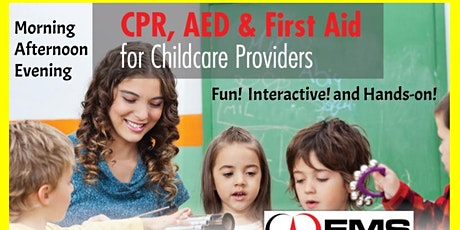 Hurst: CPR and First Aid Training for Child Care Providers tickets
