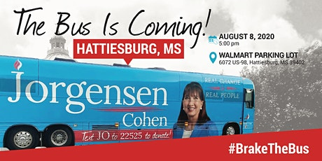 BUS TOUR: Dr. Jo is coming to Hattiesburg, MS tickets