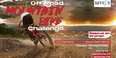 Rescue an Orphan Off-Road Mountain Bike Challenge 2020 tickets