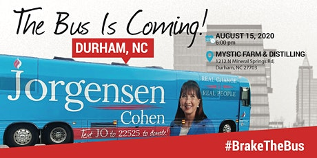BUS TOUR: Dr. Jo Jorgensen is coming to Durham, NC tickets