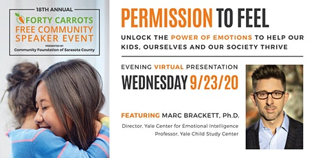 Forty Carrots Family Center Free VIRTUAL Community Speaker Event tickets