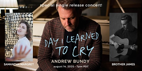 """Day I Learned to Cry"" - Single Release Livestream Concert tickets"