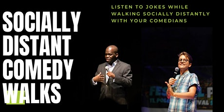 Socially Distant Comedy Walk with Daliso Chaponda and Chelsea Hart tickets