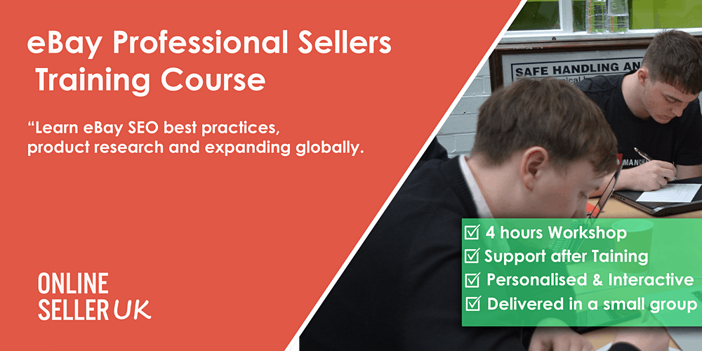 Ebay Training Course For Professional Sellers London Tickets Multiple Dates Eventbrite