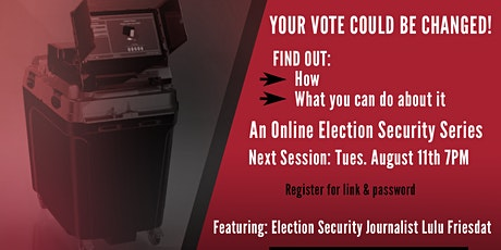 Online Election Security Series - Episode 4 tickets