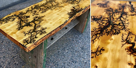 Fractal Burn & Finish Your Own Live Edge Table Top tickets