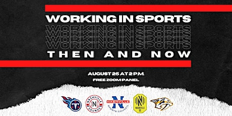 Working in Sports: Then and Now entradas