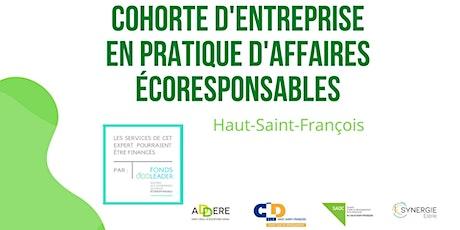 Séance d'information - Cohorte écoresponsable Haut-Saint-François billets