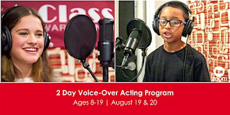 2 Day Voice-Over Acting Program tickets