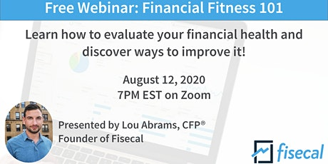 Free Webinar: Financial Fitness 101 tickets