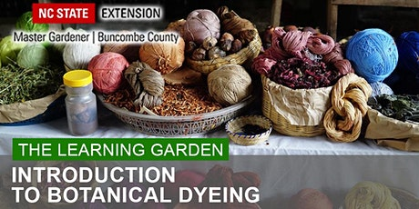 The Learning Garden Presents: Introduction to Botanical Dyeing tickets