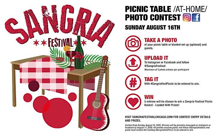 Sangria Fest Picnic Table CONTEST! image