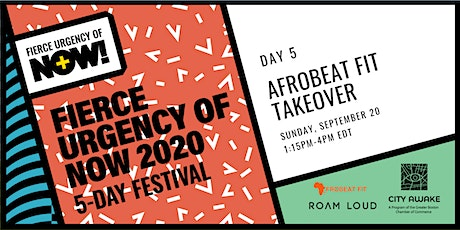 Afrobeat Fit Takeover – Fierce Urgency of Now! tickets