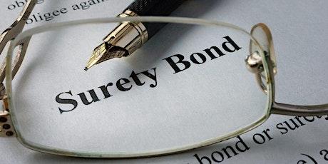 SBA Contract Bonds & Surety Bond Guarantee Webinar tickets