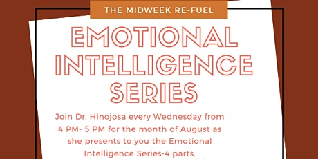 Live Webinar- Emotional Intelligence Series Part 2: Self Management tickets