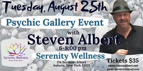 Steven Albert: Psychic Gallery Event - Serenity tickets