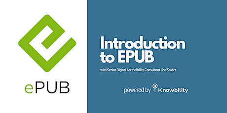 Introduction to EPUB tickets