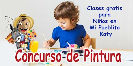 Clases gratis de pintura para niños en Mi Pueblito Katy! tickets