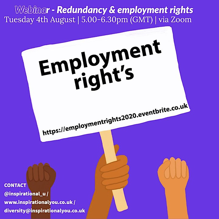 Let's talk about - Employee rights, Redundancy and Progression image