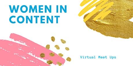 Women in Content Happy Hour - Writers & Animators tickets