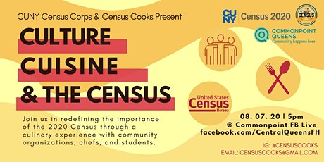 Culture, Cuisine, and the Census tickets