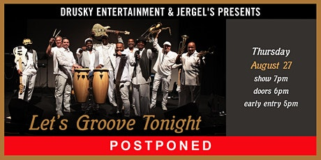 POSTPONED - Let's Groove Tonight - A Tribute to Earth, Wind, & Fire tickets