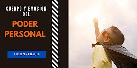 CUERPO Y EMOCION DEL PODER PERSONAL tickets