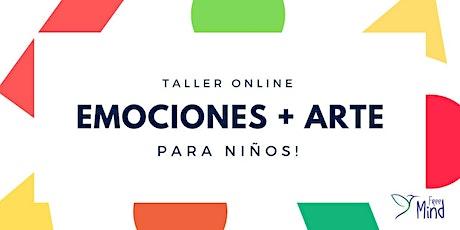 """Taller Online  para Niños """"Emociones + Arte"""" entradas"""