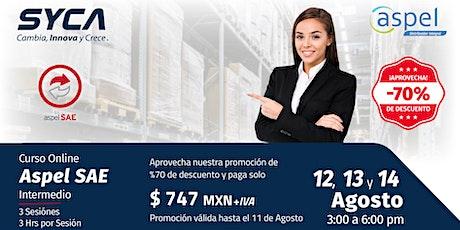 Curso ASPEL SAE INTERMEDIO entradas