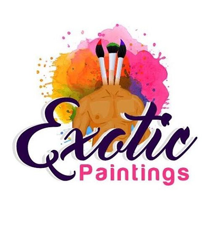 Dallas Exotic Paintings Friday BYOB Model Paint & Sip image