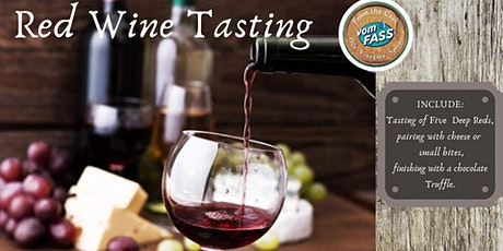 Red Wine tasting tickets