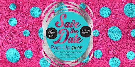 Thriftique Boutiue Pop-Up Shop tickets