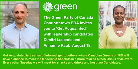 Get Acquainted Series - Green Leadership Candidates II tickets