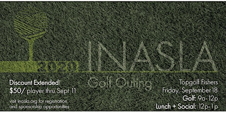 2020 INASLA Golf Outing tickets