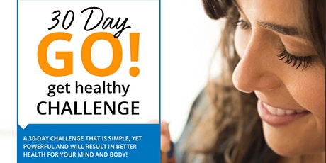 30 Day GO! Get Healthy Challenge 2020 tickets