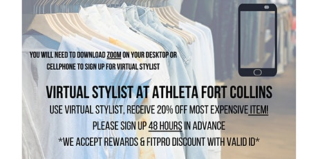 Virtual Stylist Appointments with Athleta Fort Collins tickets