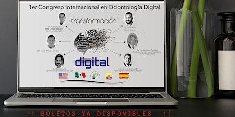 Congreso Internacional de Odontología Digital 2020 entradas