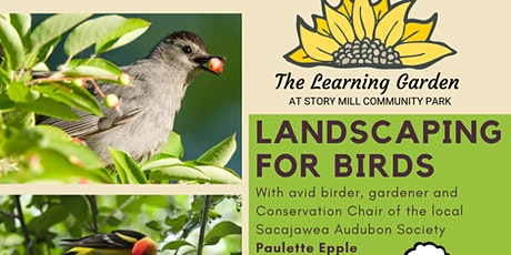 Summer Workshop Series: Landscaping for Birds tickets