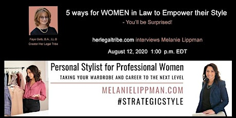 5 ways for WOMEN in Law to Empower their Style - You'll be Surprised tickets